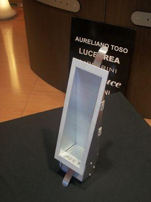 Immagine di Applique Da Incasso A Parete Per Interni In Alluminio