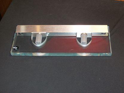 Immagine di Applique Da Paret Per Interni In Vetro Cristallo Trasparente