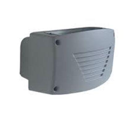 Immagine di Applique Da Parete Per Esterni In Alluminio Pressofuso E Vetri Trasparenti