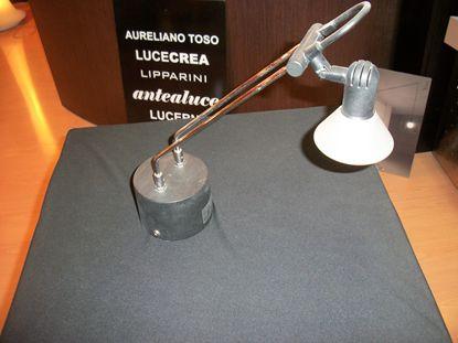 Immagine di Applique Da Parete Per Interno Con Struttura In Metallo E Coppa In Vetro