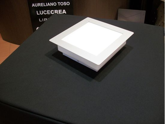 Applique plafoniera a soffitto in vetro opale soffiato e cornice