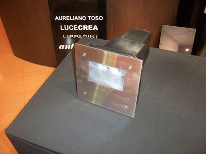 Picture of Faro Da Incasso A Pavimento Quadrato In Acciaio Inox