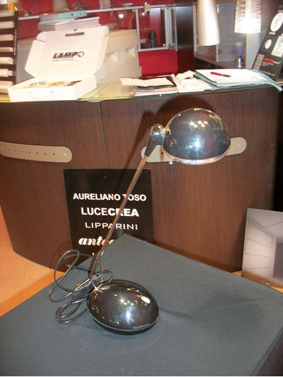 Picture of Lampada Da Tavolo In Metallo Di Colore Nero