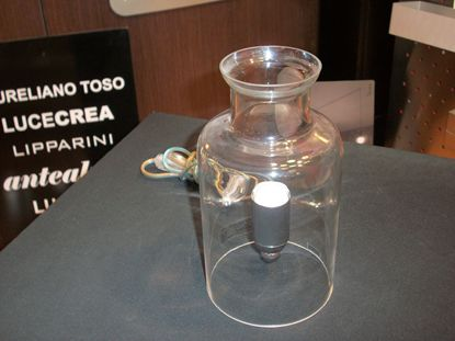 Picture of Lampada Da Tavolo Per Interni, In Vetro Cristallo Trasparente
