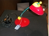 Picture of Lampada Da Tavolo In Plastica Di Colore Rosso, Giallo E Azzurro