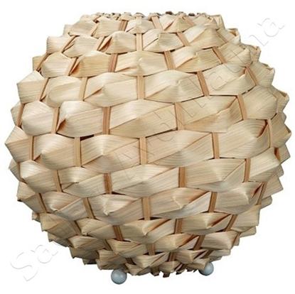 Immagine di Lampada Da Appoggio  In Materiale Sintetico Marrone