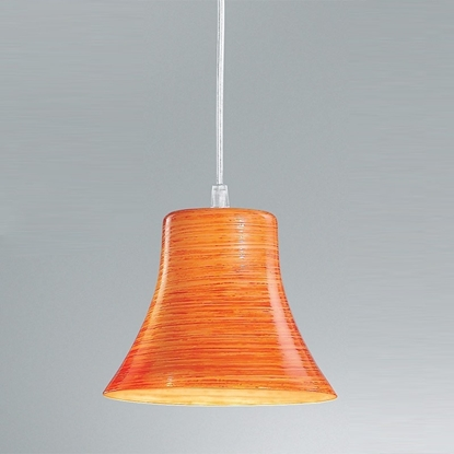 Immagine di Sospensione In Vetro Color Arancio