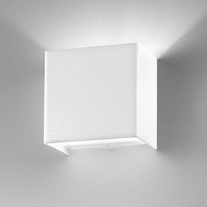 Immagine di Applique Da Parete In Metallo Bianco