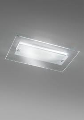 Picture of Plafoniera Led Da Soffitto In Vetro Cristallo