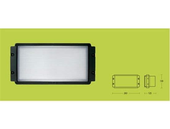 Applique per esterno vetro e alluminio bime ingrosso e