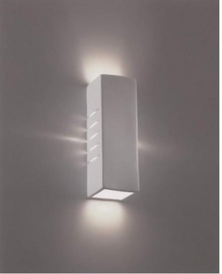 2202 54 applique da parete in gesso bime ingrosso e dettaglio materiale elettrico - Applique in gesso da parete ...