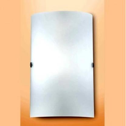 Immagine di Applique Da Parete In Vetro Bianco