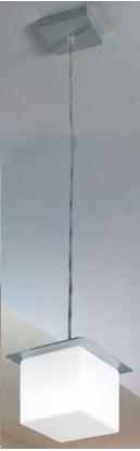 Picture of Lampada A Sospensione In Vetro Bianco