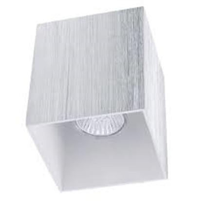 Immagine di Cubo A Soffitto In Acciaio Spazzolato