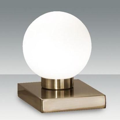Picture of Lampada Da Tavolo Touch Con Sfera In Vetro