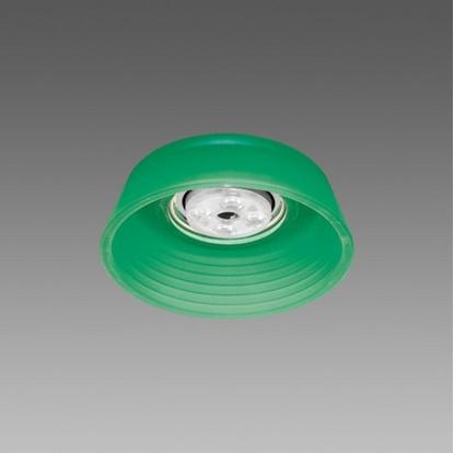 Immagine di Faretto Da Incasso In Vetro Verde