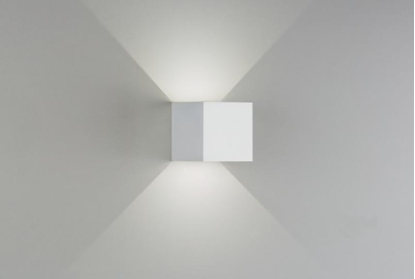 Picture of Cubo Led In Metallo Per Interno Da Parete