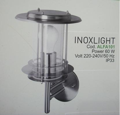 Immagine di Applique Per Esterno In Acciaio Inox