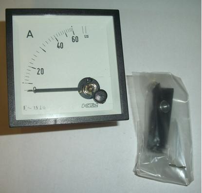 Picture of Amperometro Da Quadro 60a Asia -ec7260a-