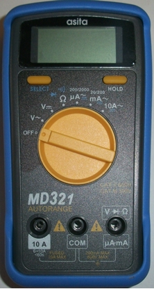 Picture of Misuratore Digitale Con Buzzer Asia -md321-