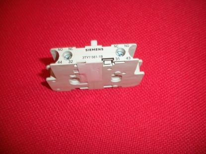 Immagine di Blocco Contatto Ausiliario Siemens - 3ty75611b -
