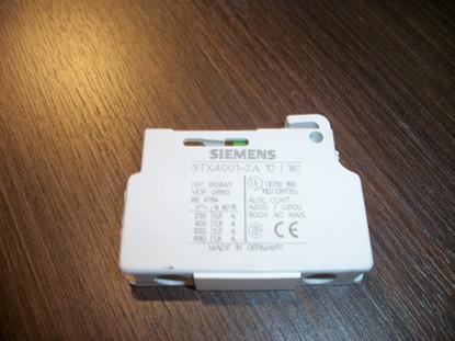 Immagine di Contatto Ausiliario Con Uscite Blocchi A Vite Siemens - 3tx40012a-
