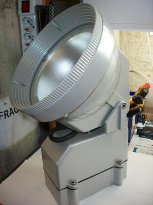 Picture of Proiettore Alogeno Grigio Per Esterno Ip67 Allum -290409-