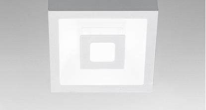 Picture of Lampada Da Soffitto Per Interno In Alluminio Di Colore Bianco Opaco Ailati Lights -ld0006b3-