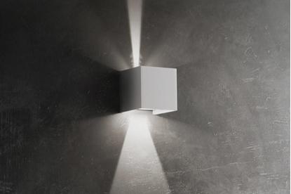 Picture of Applique Da Parete In Alluminio Di Colore Bianco Opaco Ailati Lights -ld0052b3-