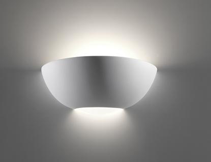 Immagine di Applique In Ceramica Con Diffusore In Vetro Per Interno Belfiore -920710841-