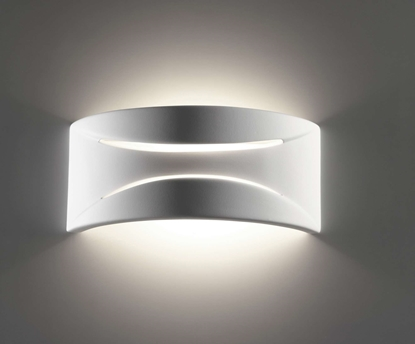 Immagine di Applique In Ceramica Dalle Linee Morbide Con Fessure Decorative Belfiore -932310841-