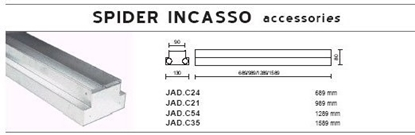 Immagine di Cassaforma Da Incasso Per Serie Spider