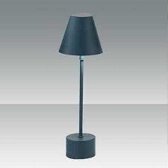 Lampada da tavolo verde petrolio bime ingrosso e dettaglio materiale elettrico for Lampada da tavolo verde