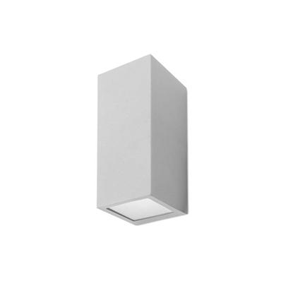 Immagine di Applique Per Esterno Da Parete In Alluminio Verniciato Grigio Forlight -px0056gri-