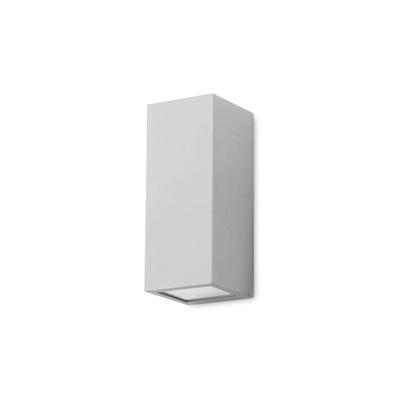 Immagine di Applique Per Esterno Da Parete In Alluminio Verniciato Grigio Forlight -px0127gri-