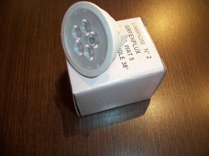 Picture of Lampada Dicroica Attacco Gu5.3 A Led 12v Green Plux -2mr1612v5w-