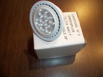 Picture of Lampada Dicroica Attacco Gu5.3 A Led 12v Green Plux -3mr1612v7w-