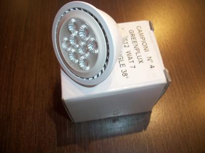 Picture of Lampada Dicroica Attacco Gu5.3 A Led 12v Green Plux -4mr1612v7wra95-