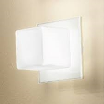 Picture of Cubic Applique Per Interno Acciaio E Vetro