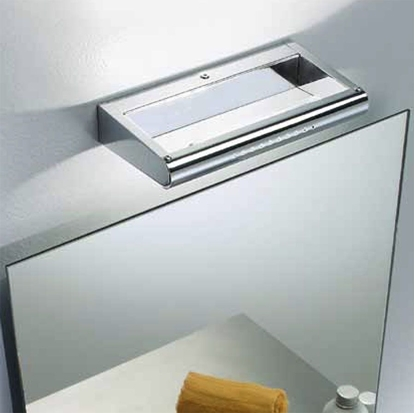 Picture of Metal Applique Stile Moderno In Metallo Cromato