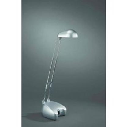 Immagine di Lampada Da Tavolo Alogena Colore Alluminio