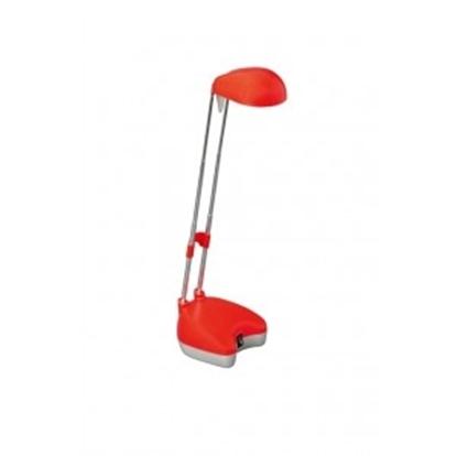 Picture of Lampada Da Tavolo Alogena Colore Rosso