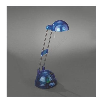 Immagine di Lampada Da Tavolo In Plastica Blu Trasparente Alogena