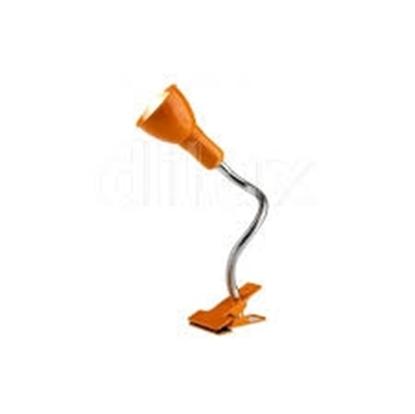 Immagine di Clip Lampada Con La Pinza Color Arancio