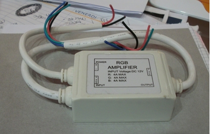 Picture of Amplificatore Per Led Rgb 12v