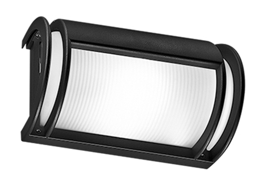 Plafoniera Esterno : Plafoniera per interno ed esterno di colore nero bime