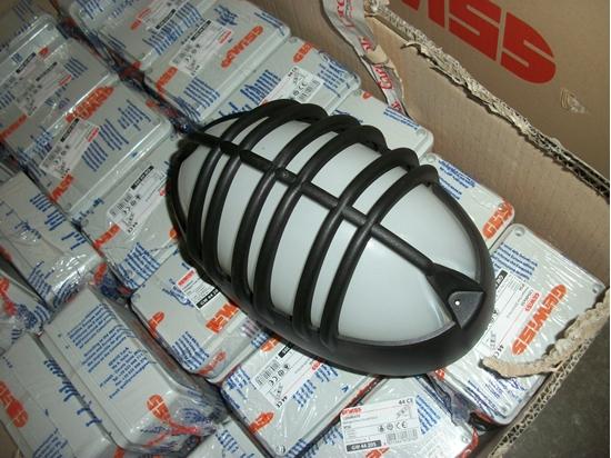 Plafoniere Con Griglia : Plafoniera nera ovale con griglia bime ingrosso e dettaglio