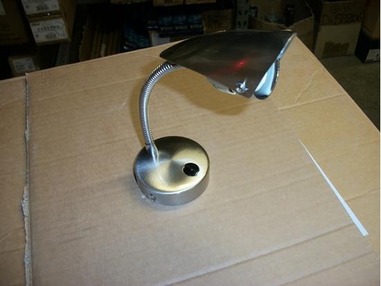 Picture of Lampada In Acciaio Orientabile -a5544no-
