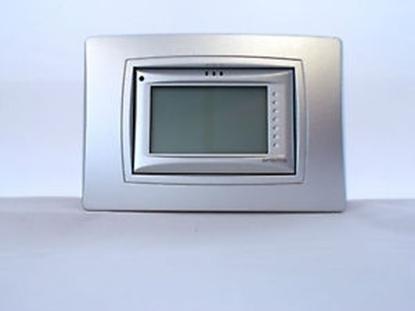 Immagine di Visiomatic I Cronotermostato Touch Screen Da Incasso Con Programmazione Giornaliera A Segmenti Meccanici -visiomaticis-
