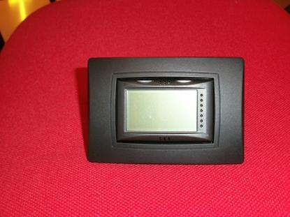 Immagine di Visiomatic I Cronotermostato Touch Screen Da Incasso Con Programmazione Giornaliera A Segmenti Meccanici -visiomaticia-